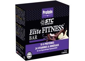 STC Nutrition Estuche de 5 barras energéticas Elite Fitness Nuez de coco