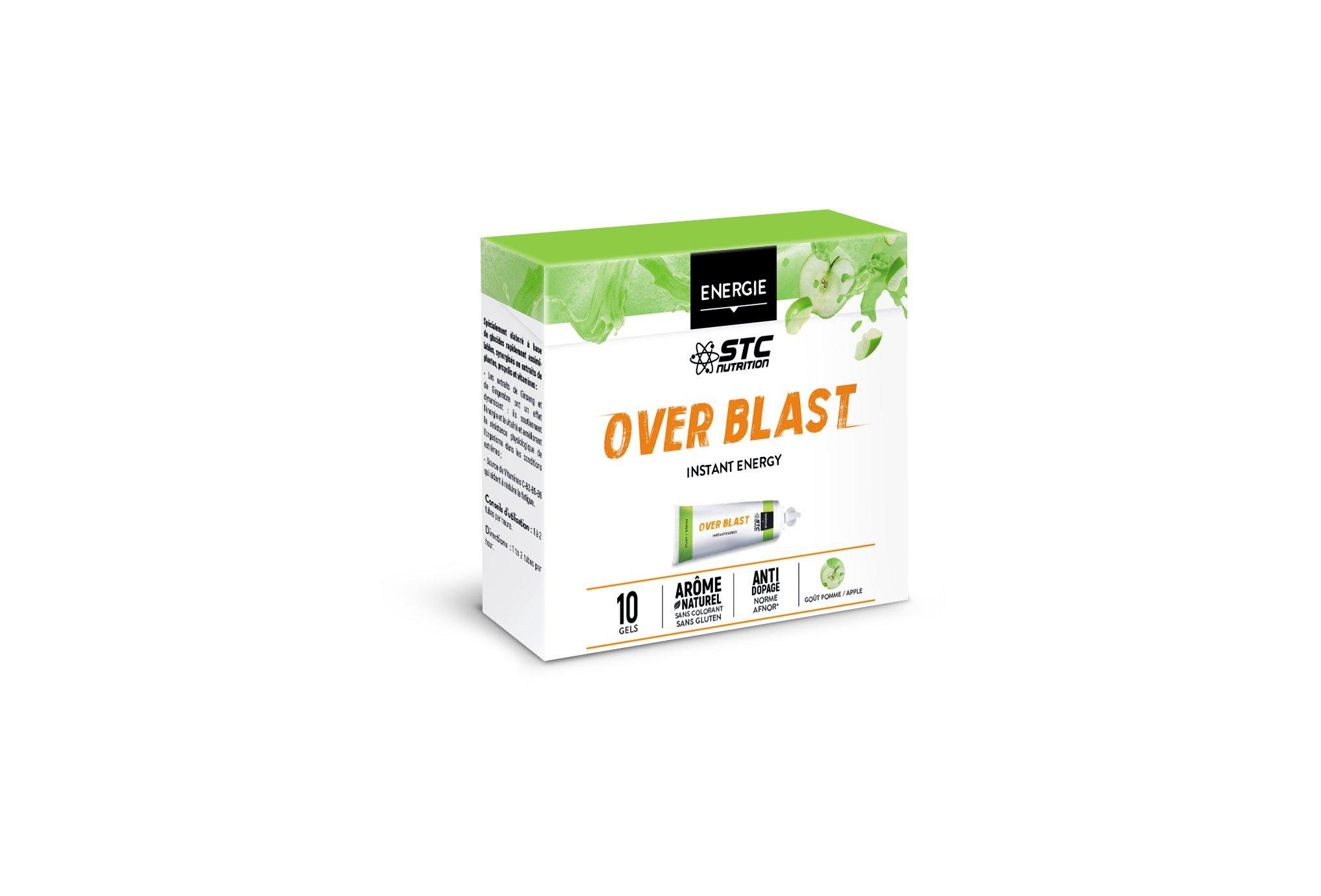 STC Nutrition Caja Geles Over Blast Perf' - Manzana Diététique Gels