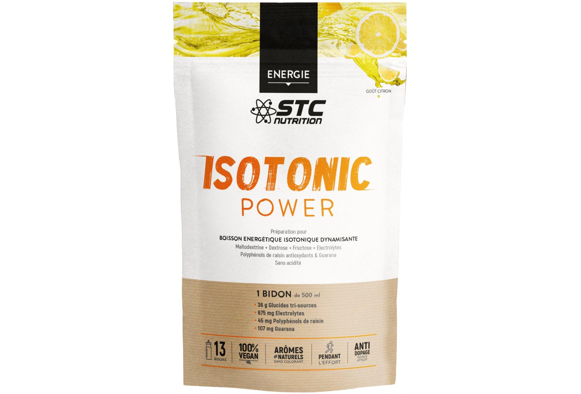 STC Nutrition Isotonic Power limón 525 g Diététique Boissons
