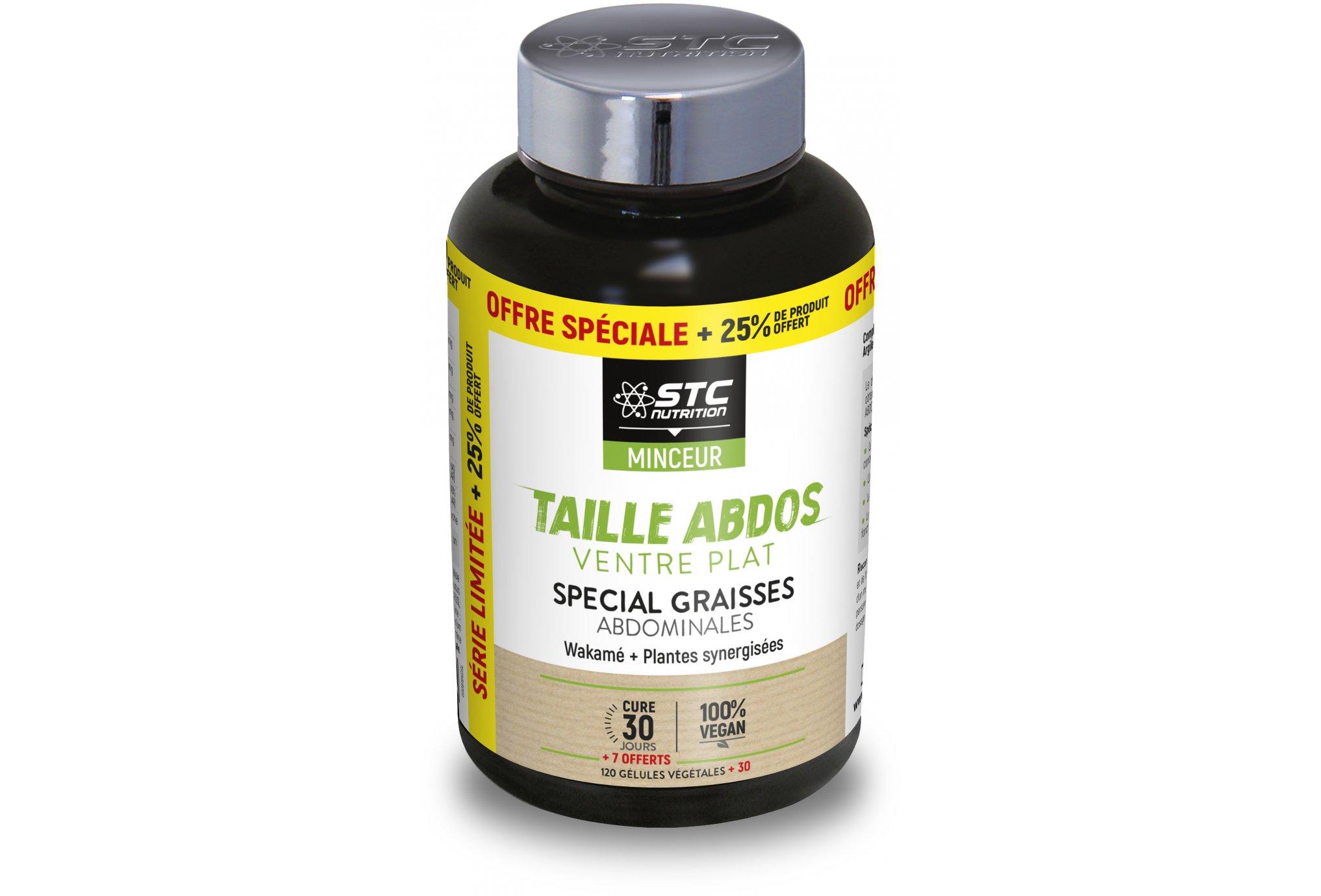 STC Nutrition Taille Abdos Ventre Plat 150 gélules 25% Offert Diététique Compléments