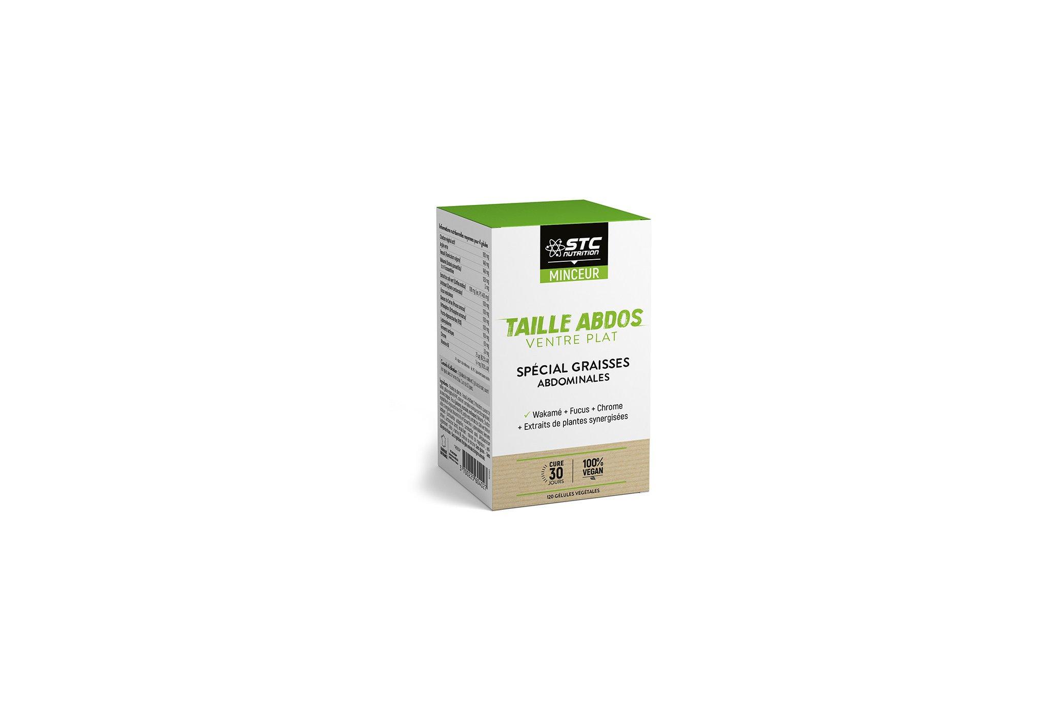 STC Nutrition Taille Abdos Ventre Plat Vegan 120 gélules Diététique Compléments
