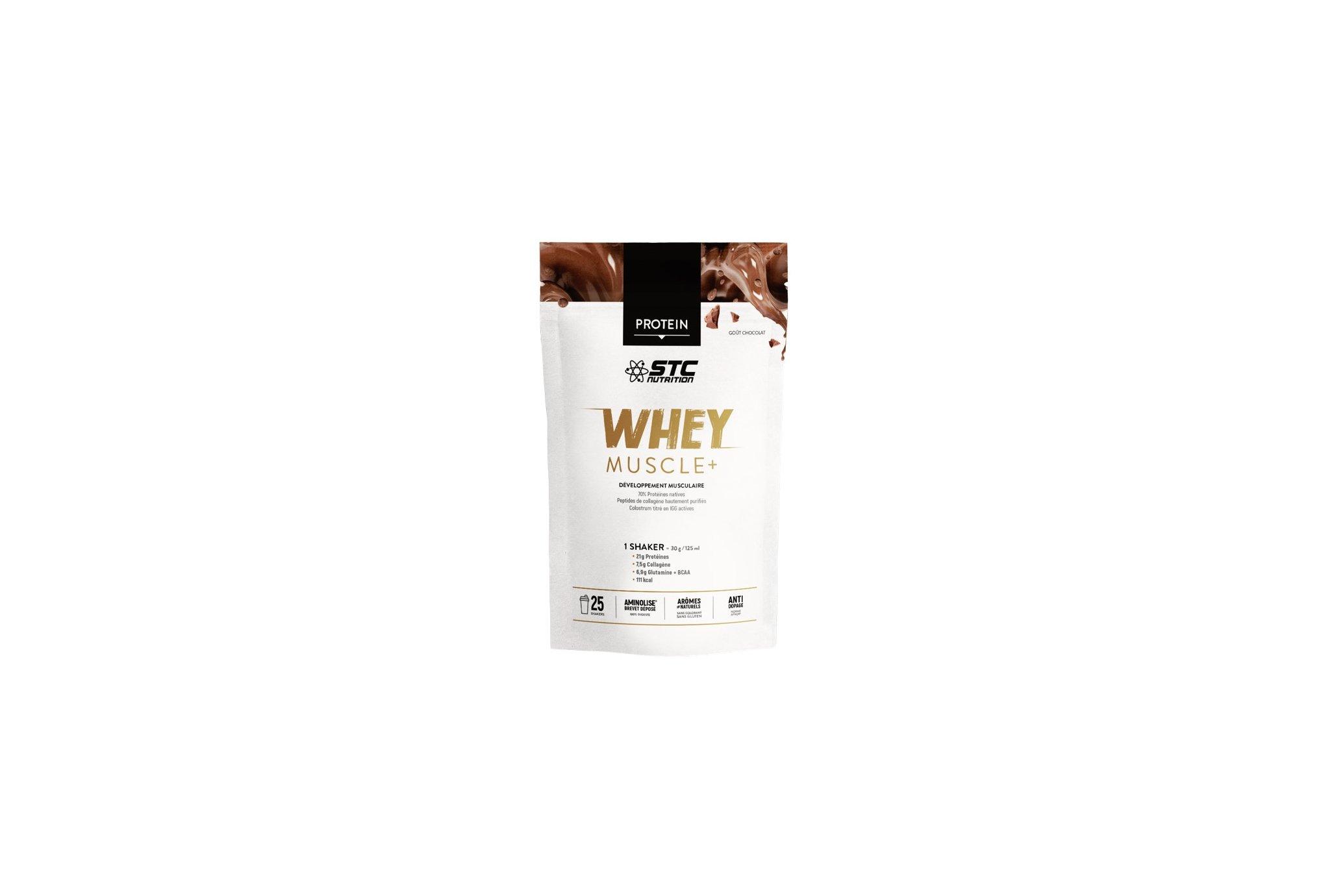 STC Nutrition Whey Muscle+ 750 g - Chocolat Diététique Protéines / récupération
