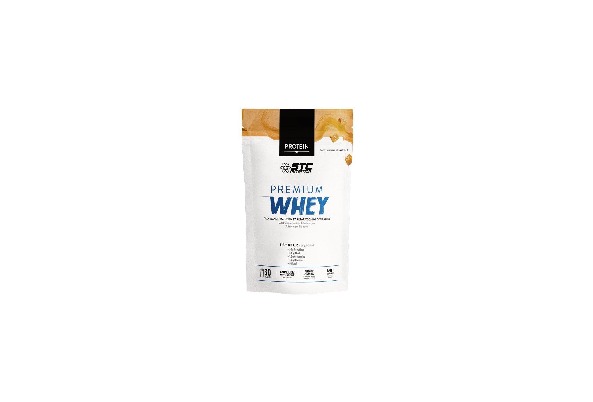 STC Nutrition Whey Pure Premium Protein caramel beurre salé 750 g Diététique Protéines / récupération
