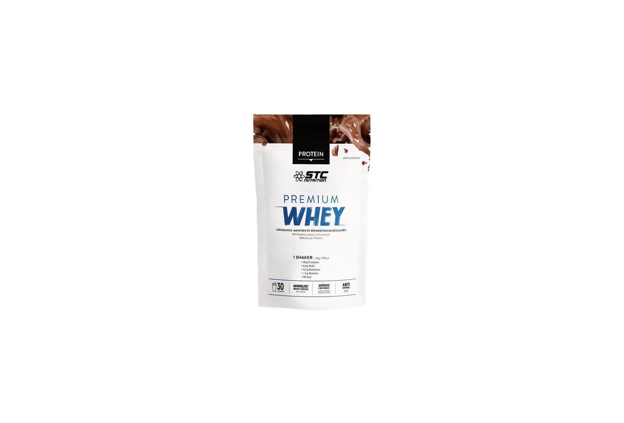 STC Nutrition Whey Pure Premium Protein chocolat 750 g Diététique Protéines / récupération