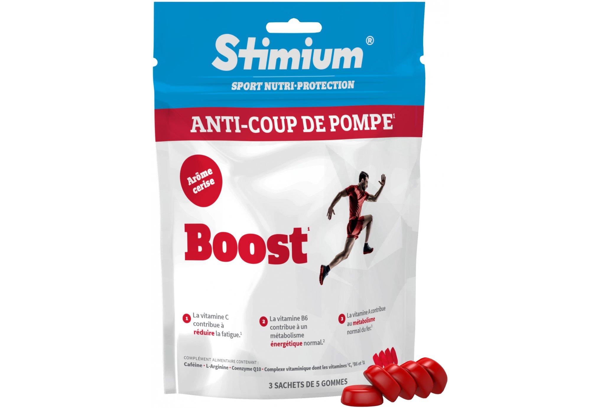 Stimium Gommes Boost - Cerise Diététique Compléments