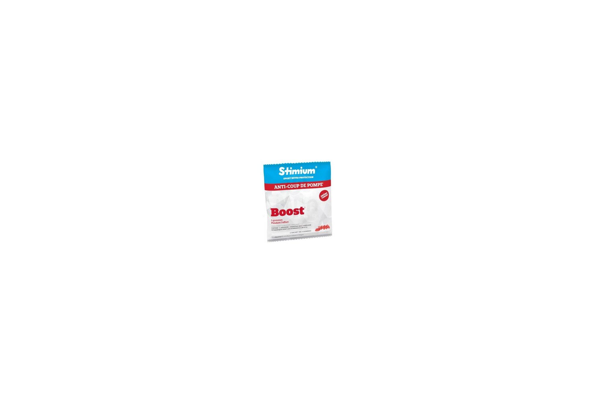 Stimium Pack 4 Sachet de 5 Gommes Boost - Cerise Diététique Compléments