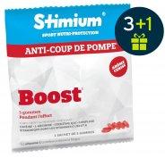 Stimium Pack de 3 Sachet de 5 Gommes Boost  - Cerise + 1 offert