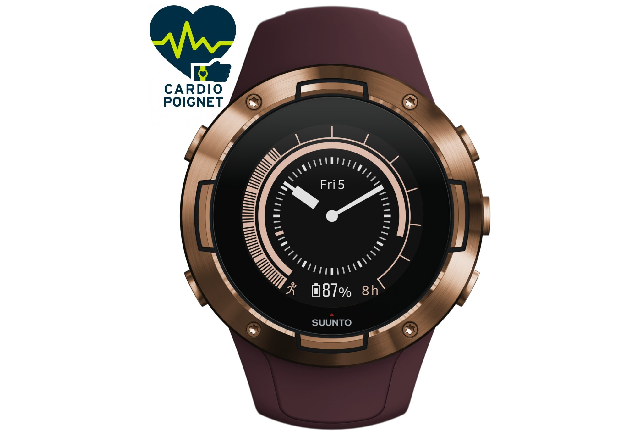 Suunto 5 Burgundy Copper Cardio-Gps