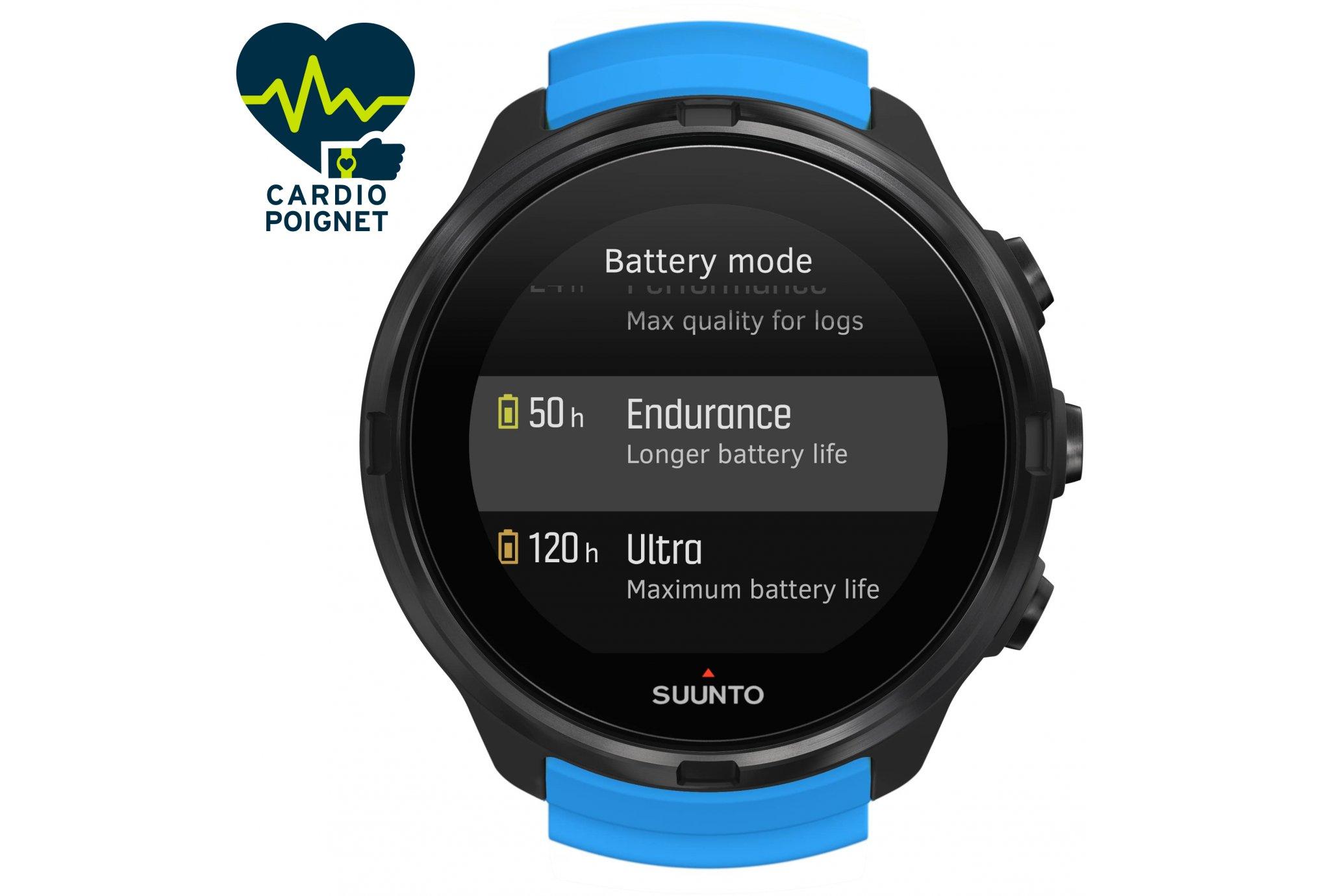Suunto reloj 9 Blue Cardio-Gps