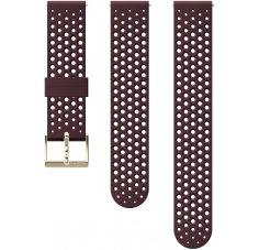 Suunto Bracelet Athletic 1 Burgundy Silicone - 20 mm