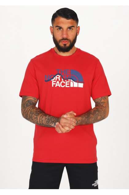 The North Face camiseta manga corta Mountain Line