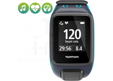 Tomtom Runner 2 Cardio + Music + Casque Bluetooth - Large