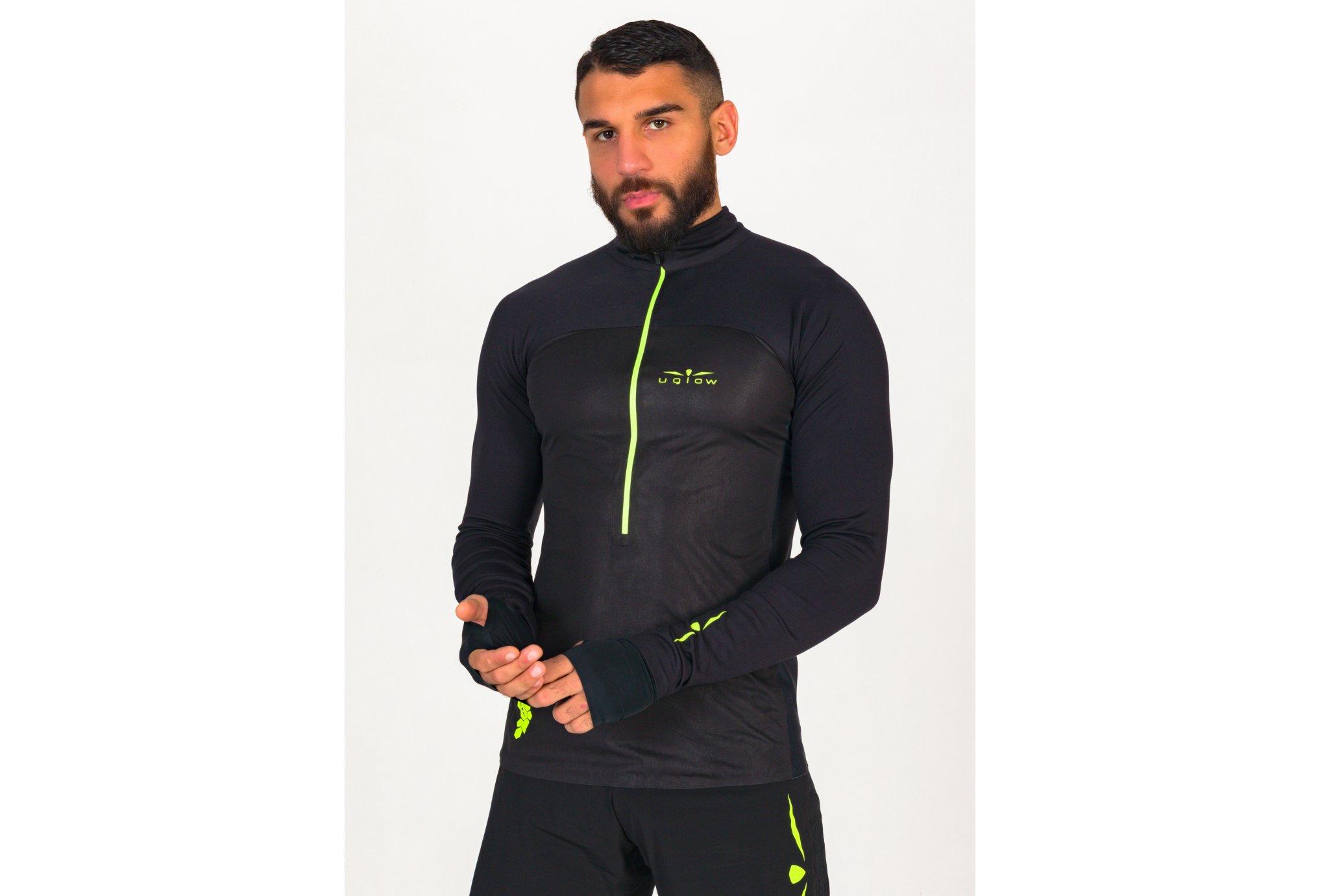 Uglow Membrane 3/4 Zip M vêtement running homme