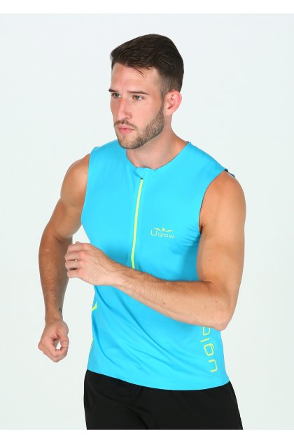Uglow camiseta sin mangas Race 1/2 zip