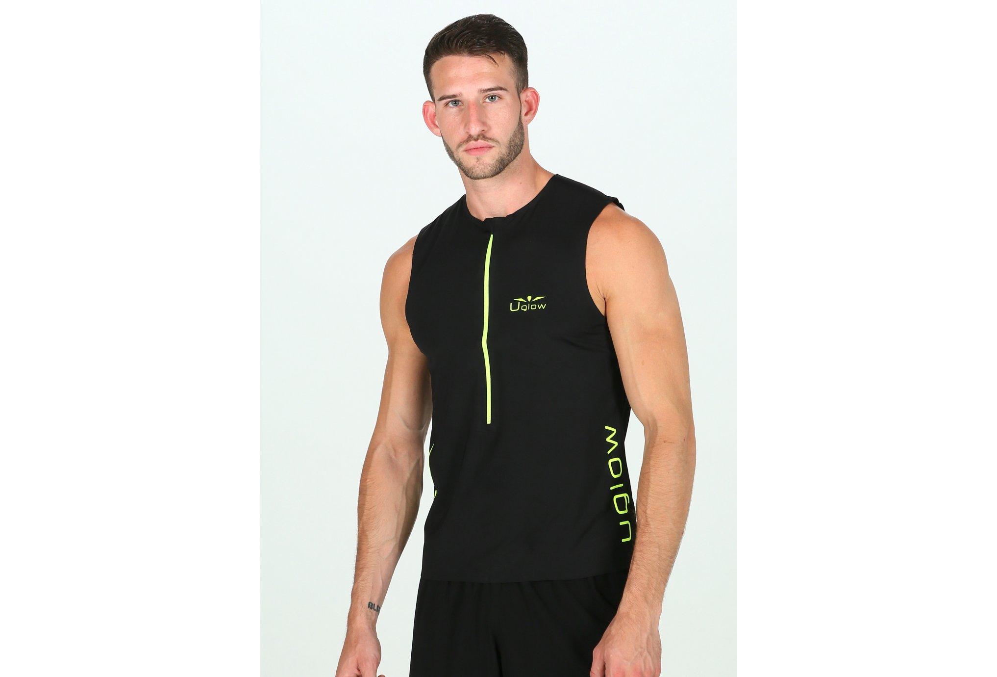 Uglow Race 1/2 zip M vêtement running homme