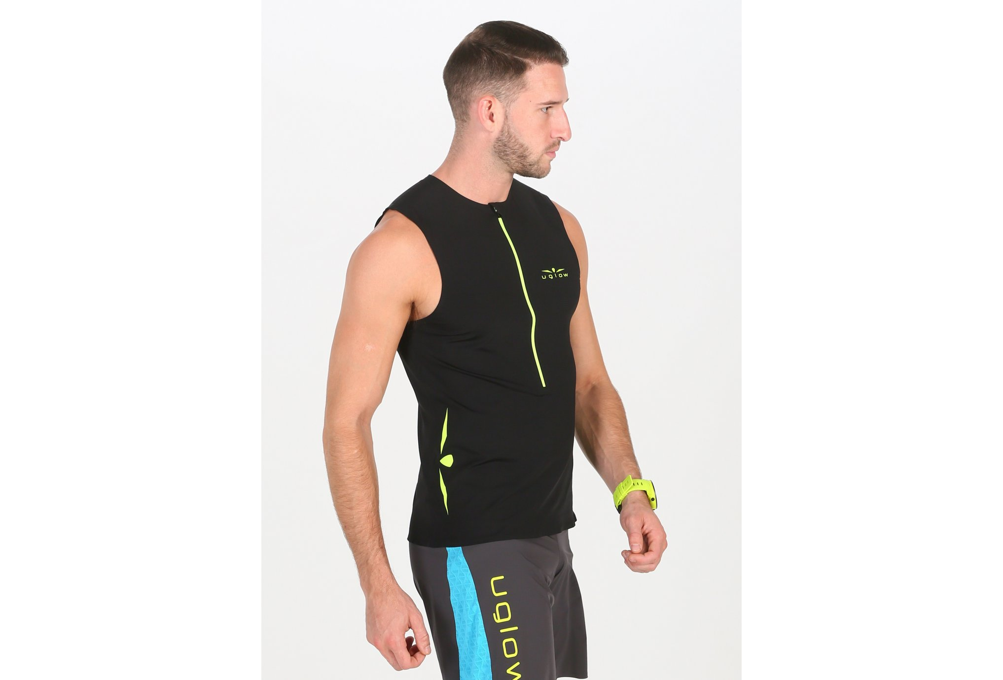 Uglow Race 1/2 zip M vêtement running homme