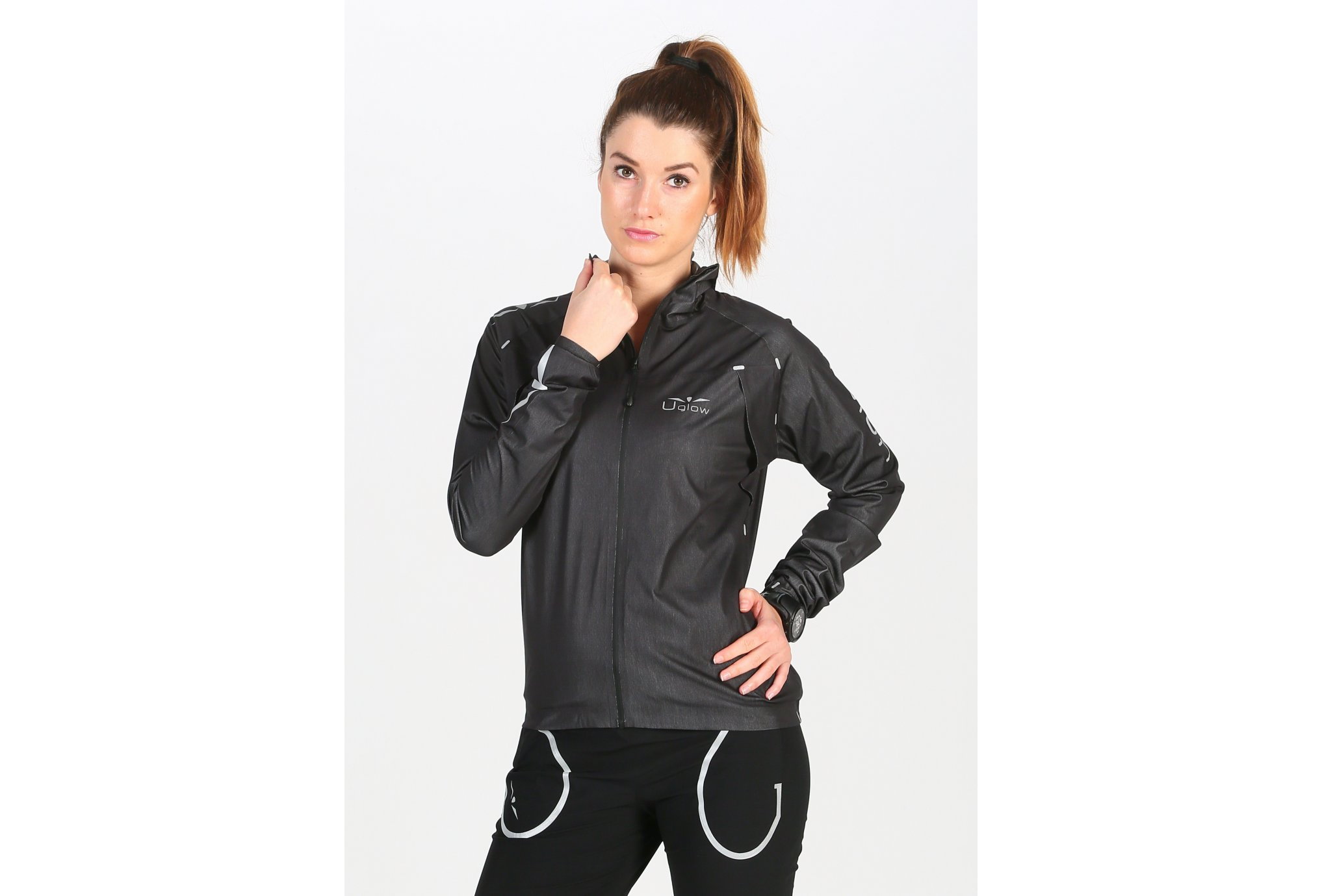 Uglow Rain Jacket X W vêtement running femme