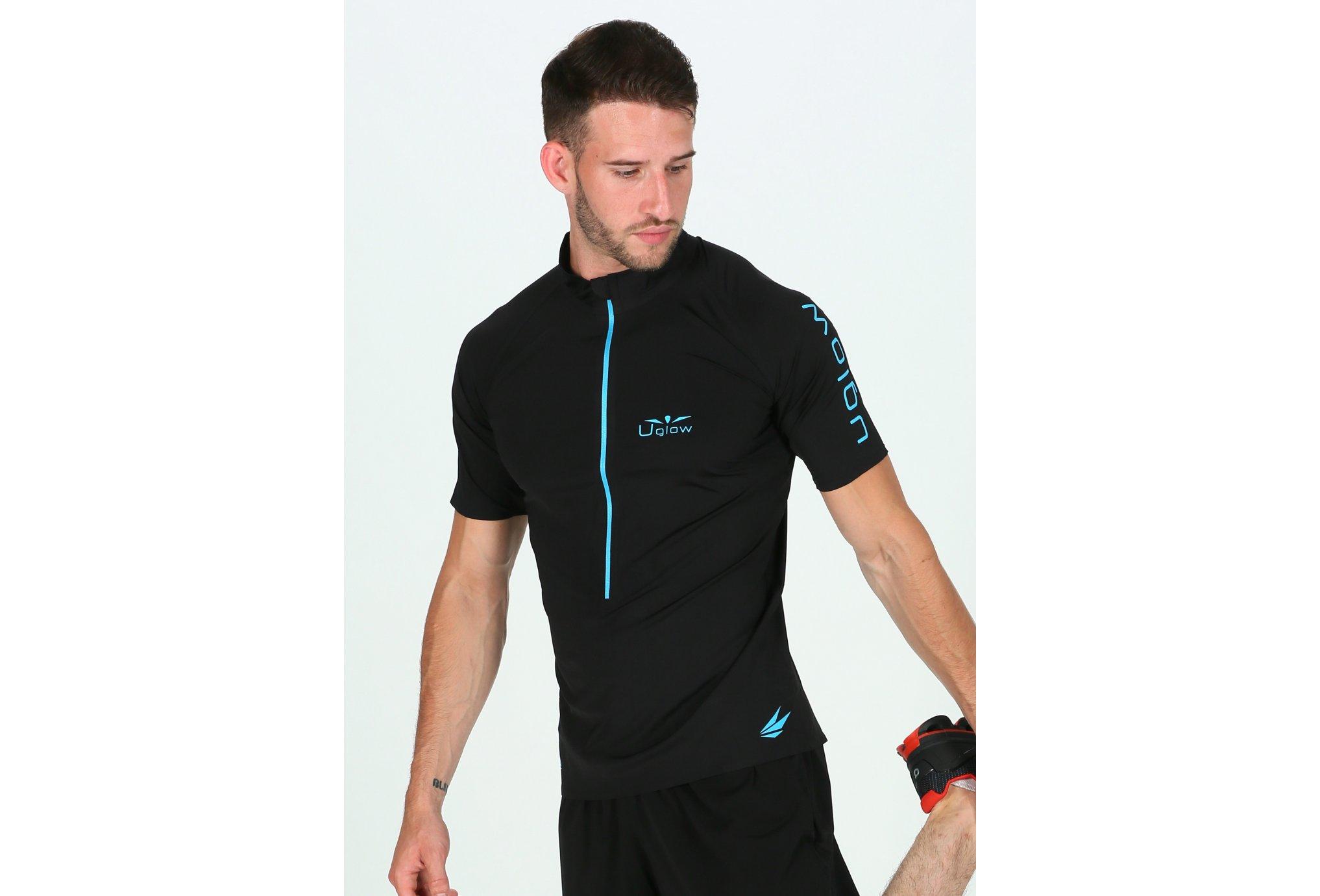 Uglow Ultra 3/4 Zip M vêtement running homme