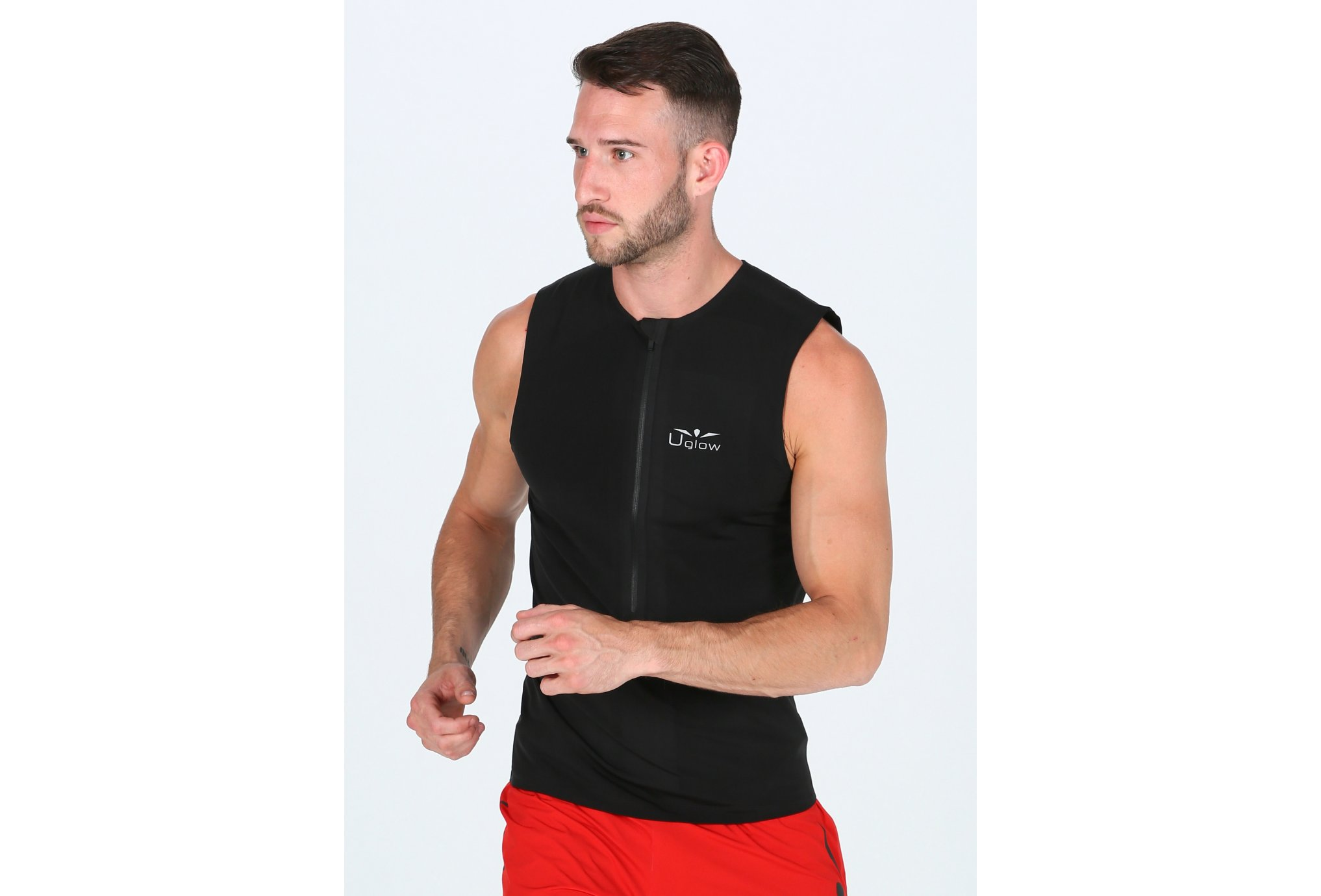 Uglow Zip Brush M vêtement running homme