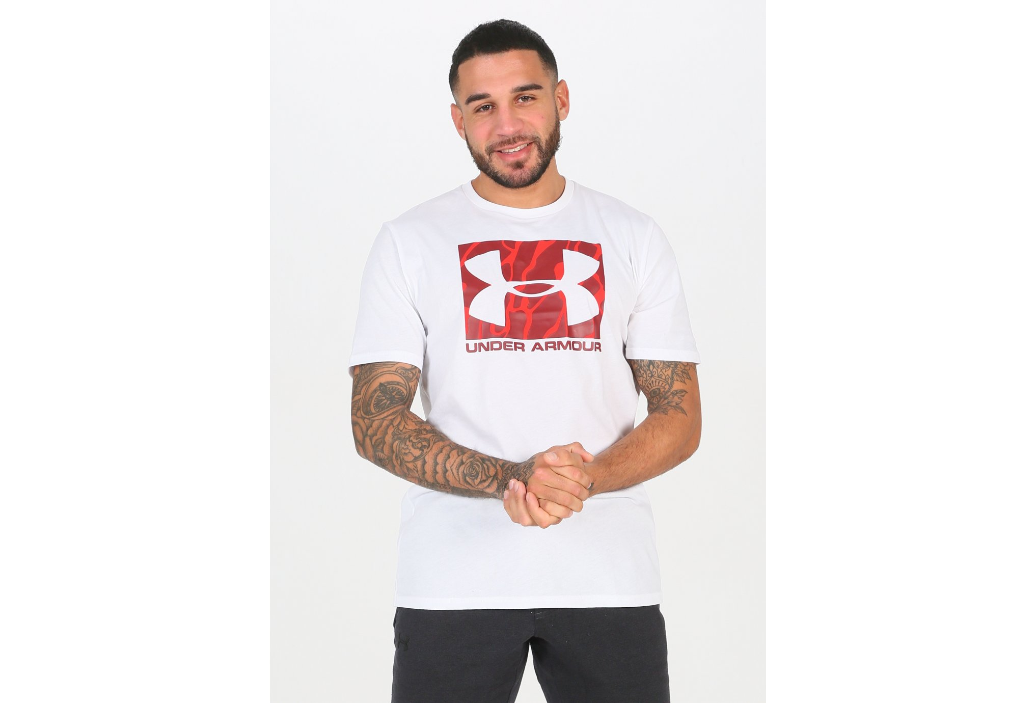 Under Armour Camo Boxed Logo M vêtement running homme