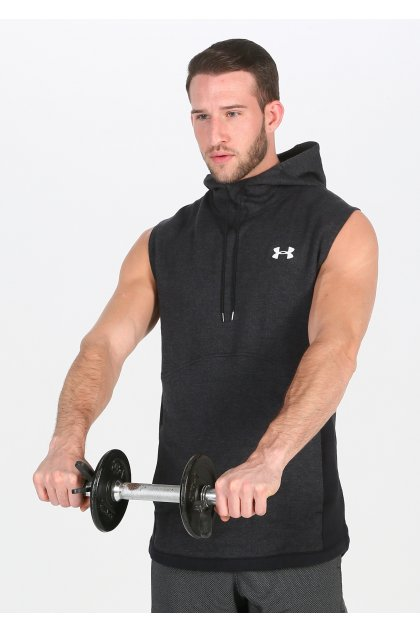 Under Armour sudadera sin mangas Double Knit