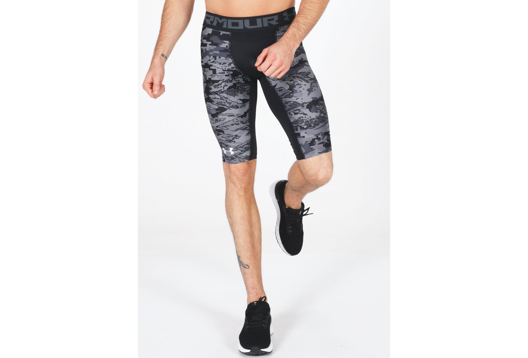 Under Armour HeatGear Armour Extra Long Printed M vêtement running homme