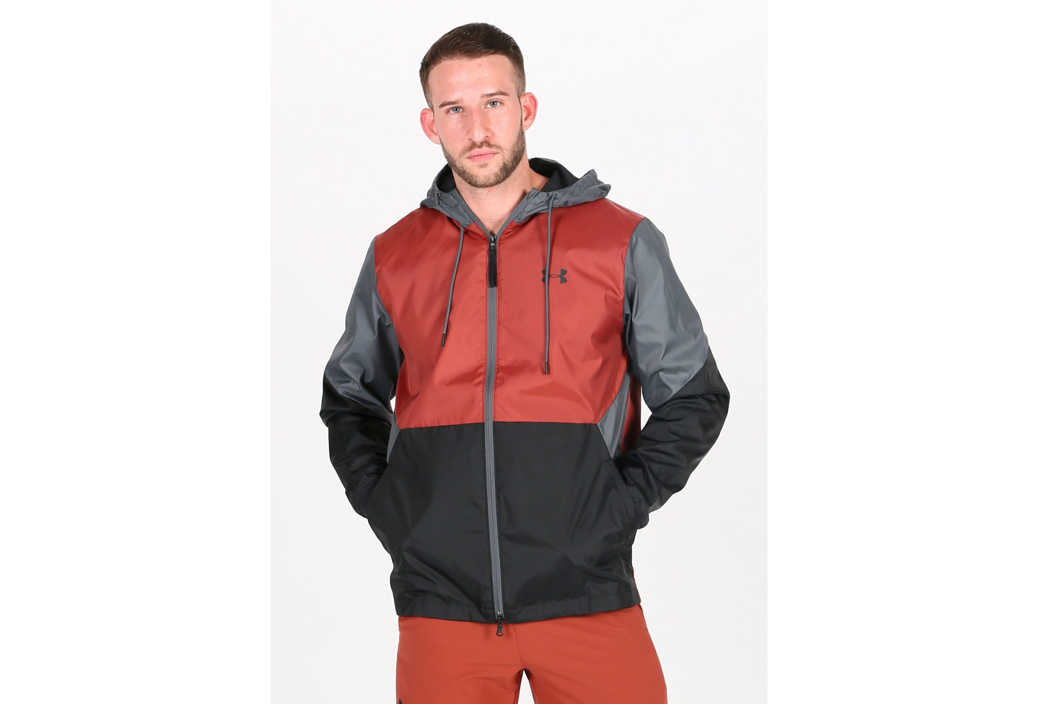 Under Armour Legacy Windbreaker M vêtement running homme
