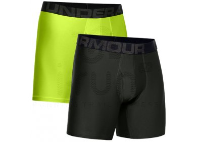 Under Armour Lot 2 Boxers Tech Boxerjock M