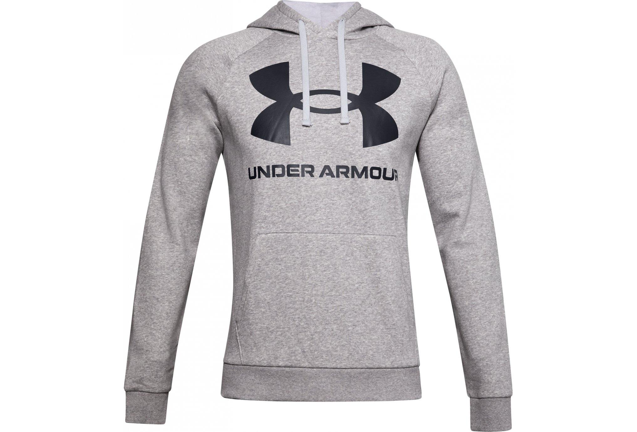 Under Armour Rival Fleece Big Logo M vêtement running homme