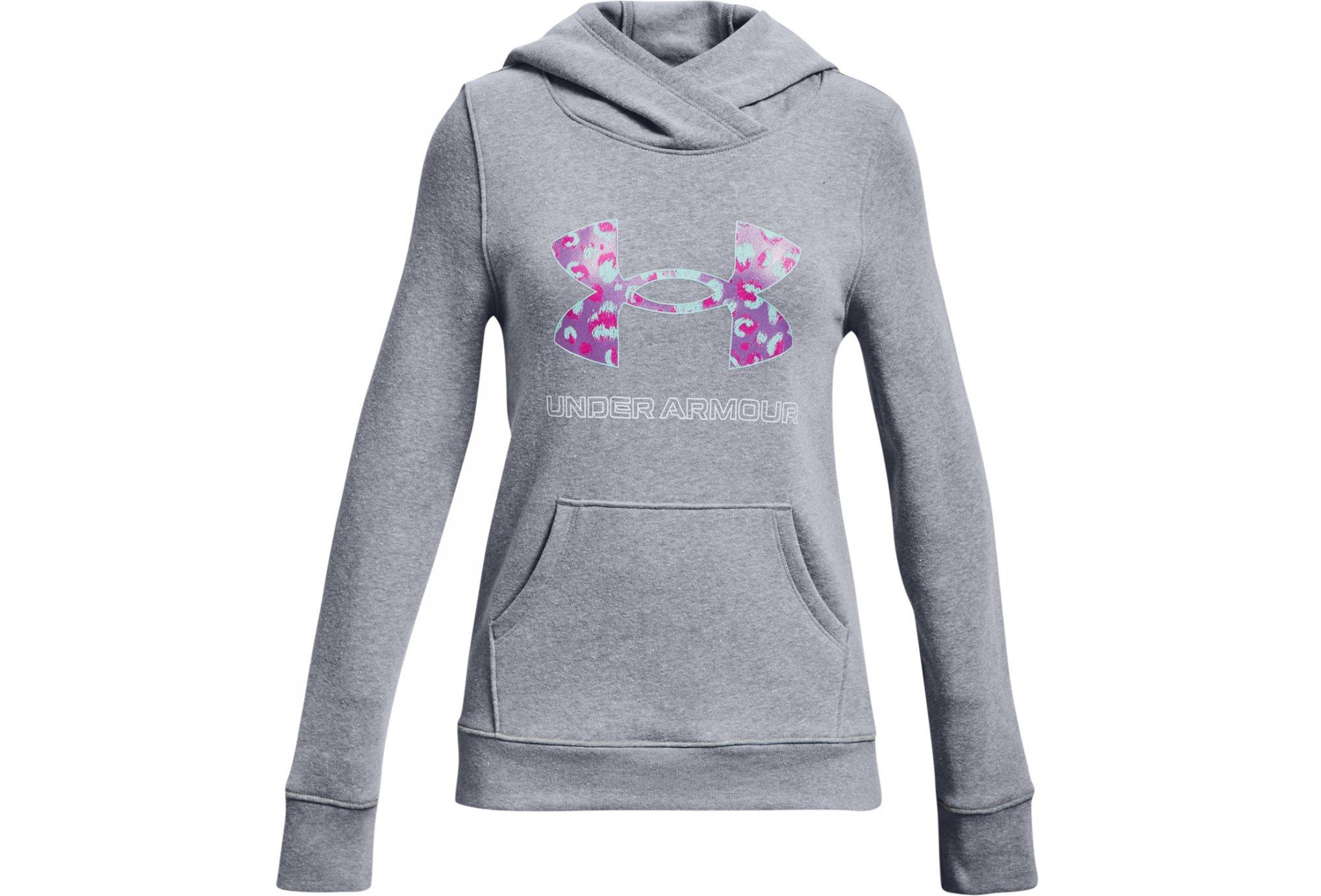 Under Armour Rival Fleece Logo Fille vêtement running femme