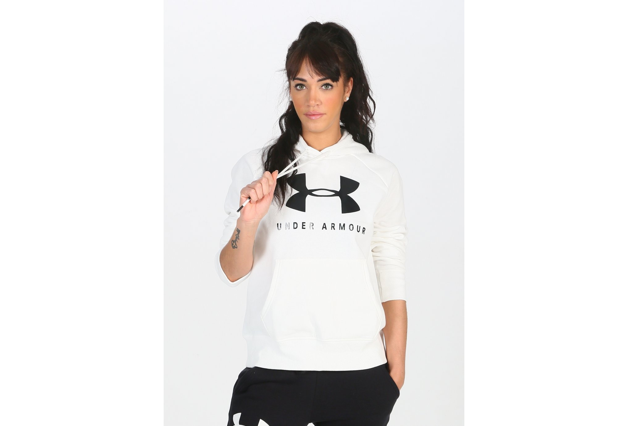 Under Armour Rival Fleece Logo W vêtement running femme