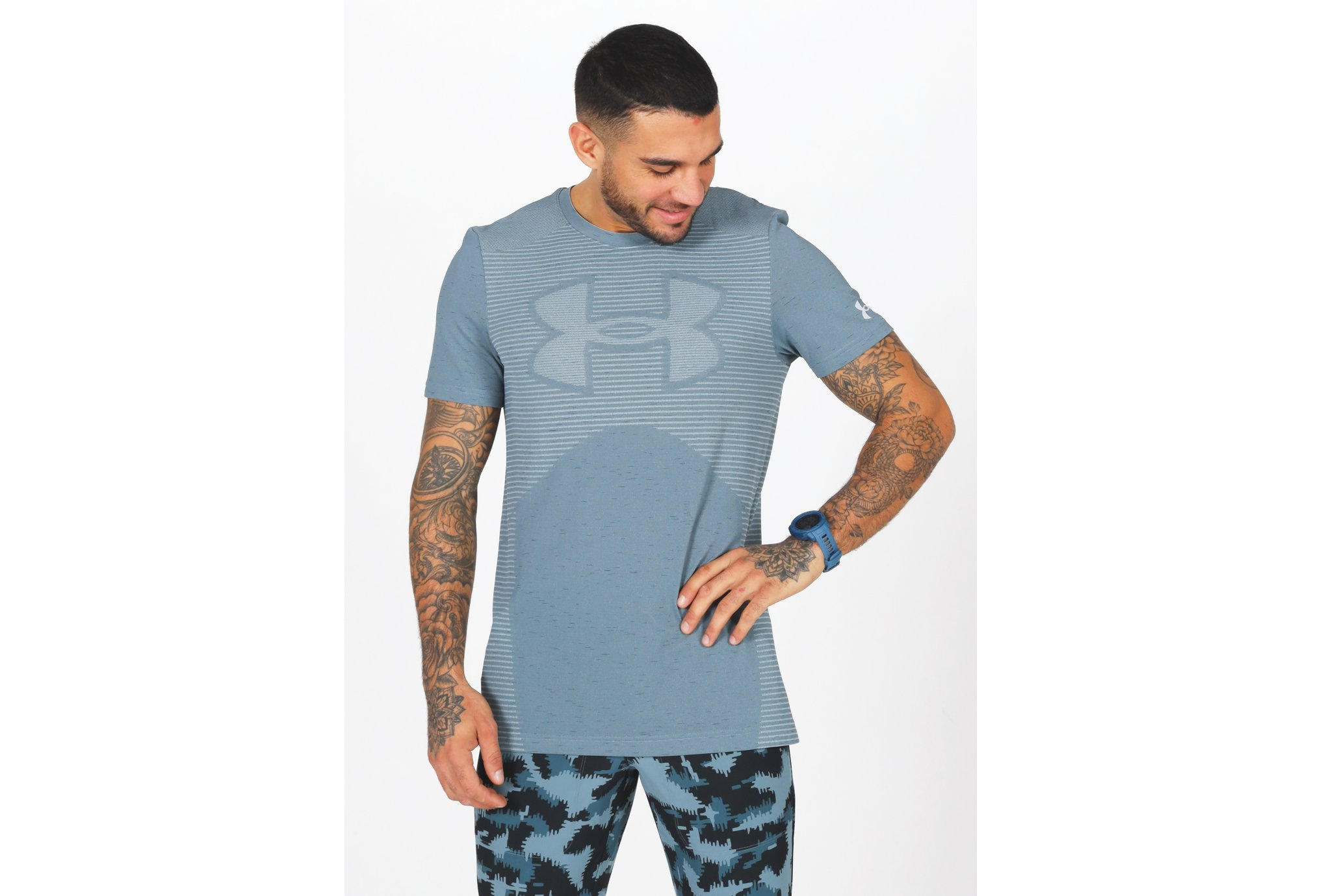 Under Armour Seamless Logo M vêtement running homme