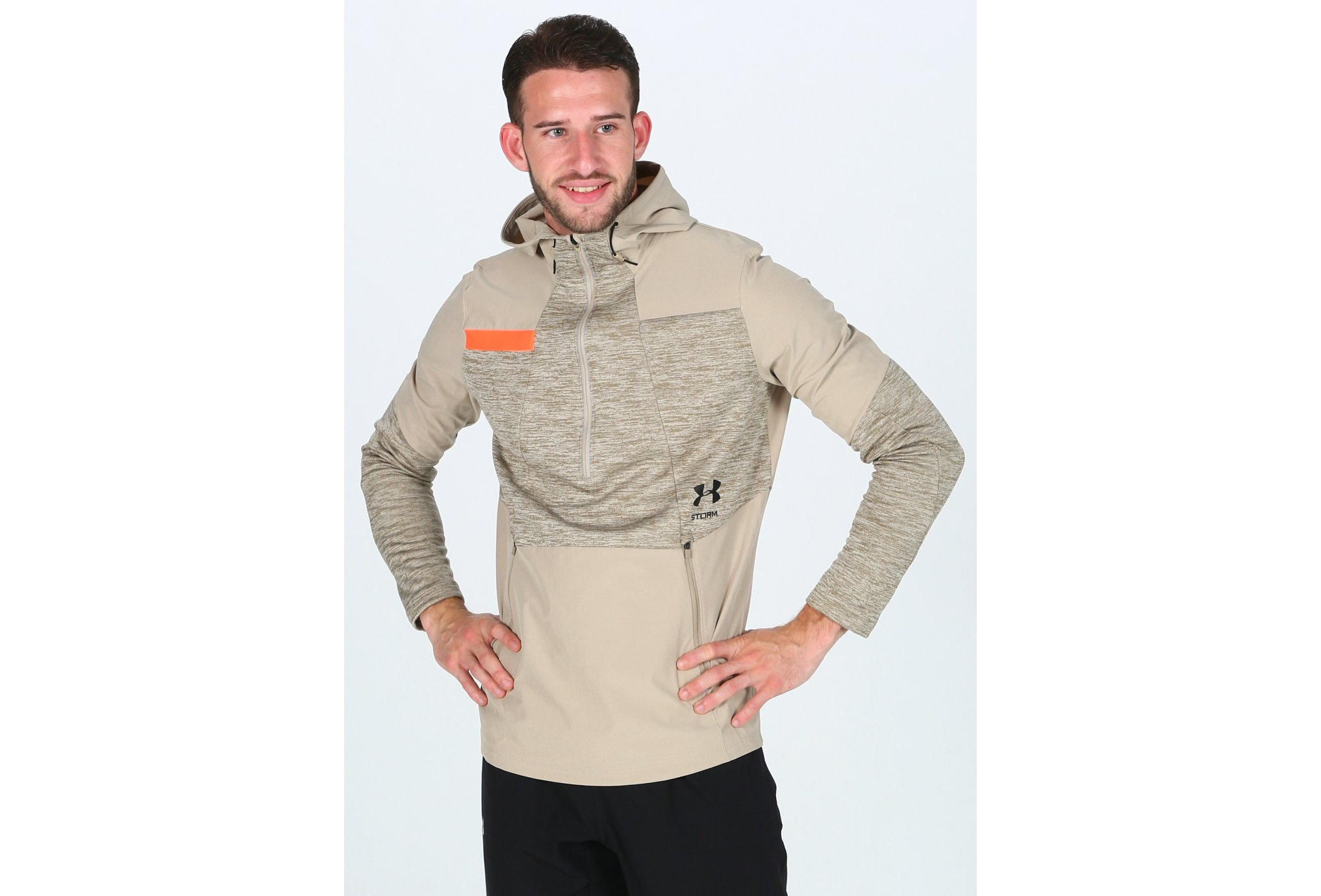 Under Armour Storm Cyclone Hoodie M vêtement running homme