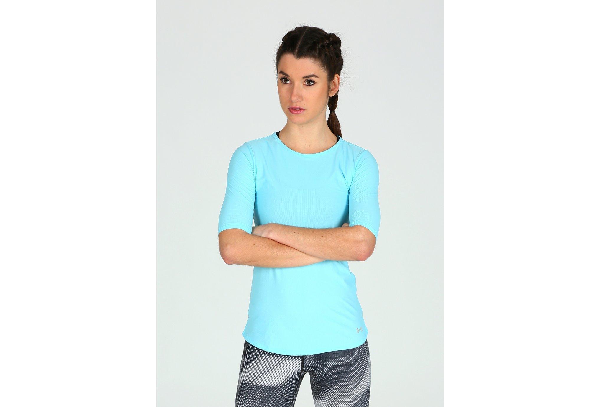 Under Armour Tee-shirt CoolSwitch Run Elbow W Diététique Vêtements femme