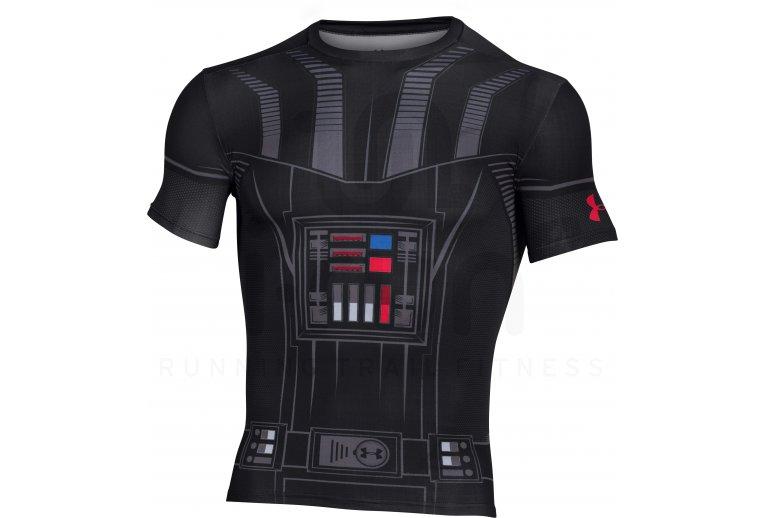 c945a00607c39 Under Armour Camiseta manga corta Star Wars UA Vader Compression en ...
