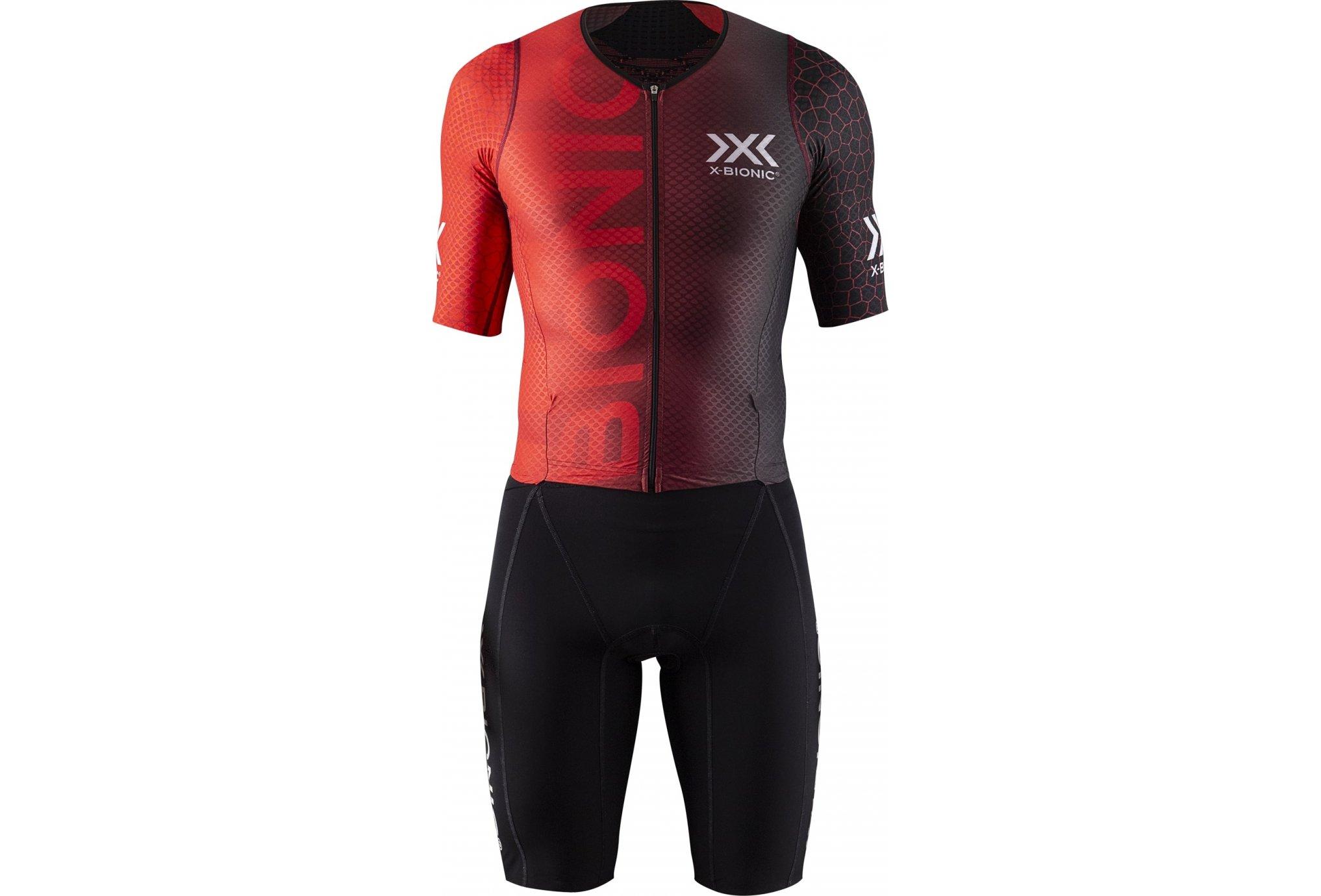 X-Bionic Dragonfly Trisuit 5G M vêtement running homme