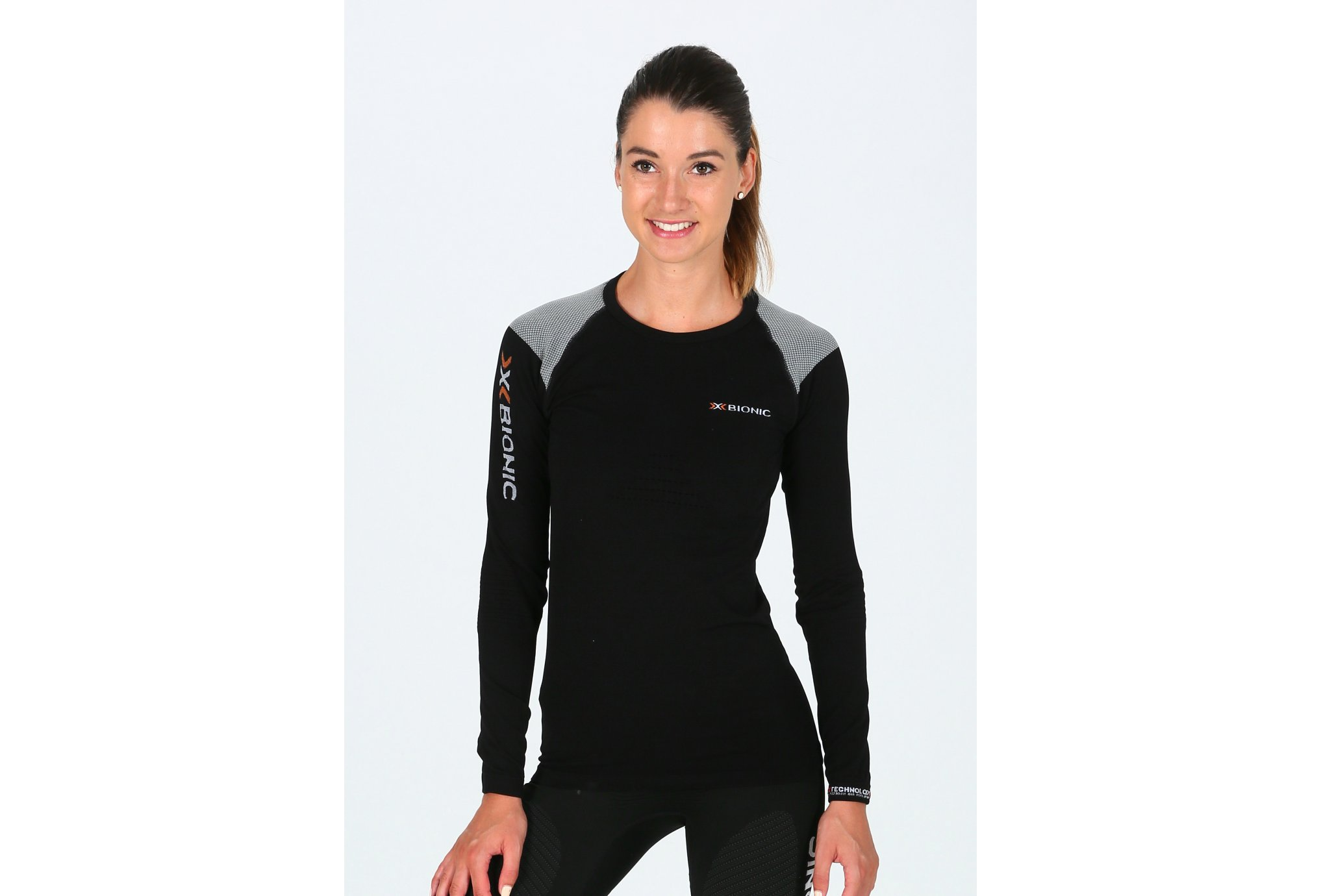 X-Bionic Tee-shirt Running Speed L/S W vêtement running femme