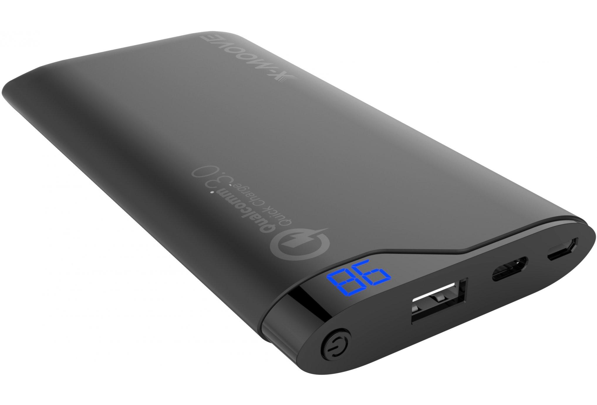 X-Moove Powergo Flash 10000 Batterie externe